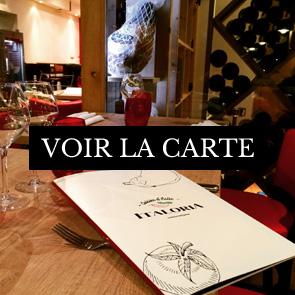 Carte Italoria Restaurant