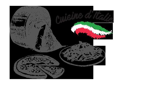 Cuisine d'Italie
